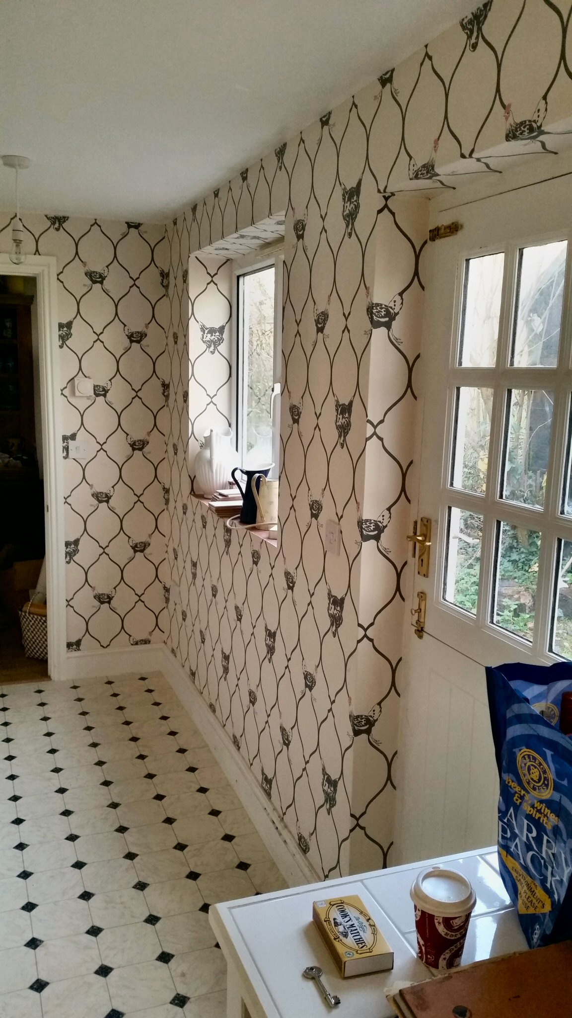 Wallpapering Abacus Decorating